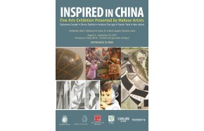 Inspired in China - <p>Fine Artists Exhibition presented by Maltese Artists including Catherine Cavallo, Simon Barthet, Antoine Farrugia, Darren Tanti and Alex Attard.</p>